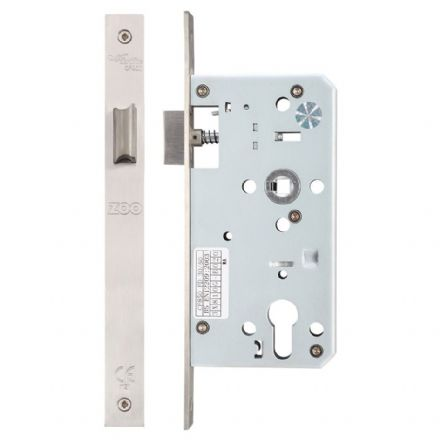 Vier ZDL0055LSS Din Standard Mortice Latch 55mm Satin Stainless Steel